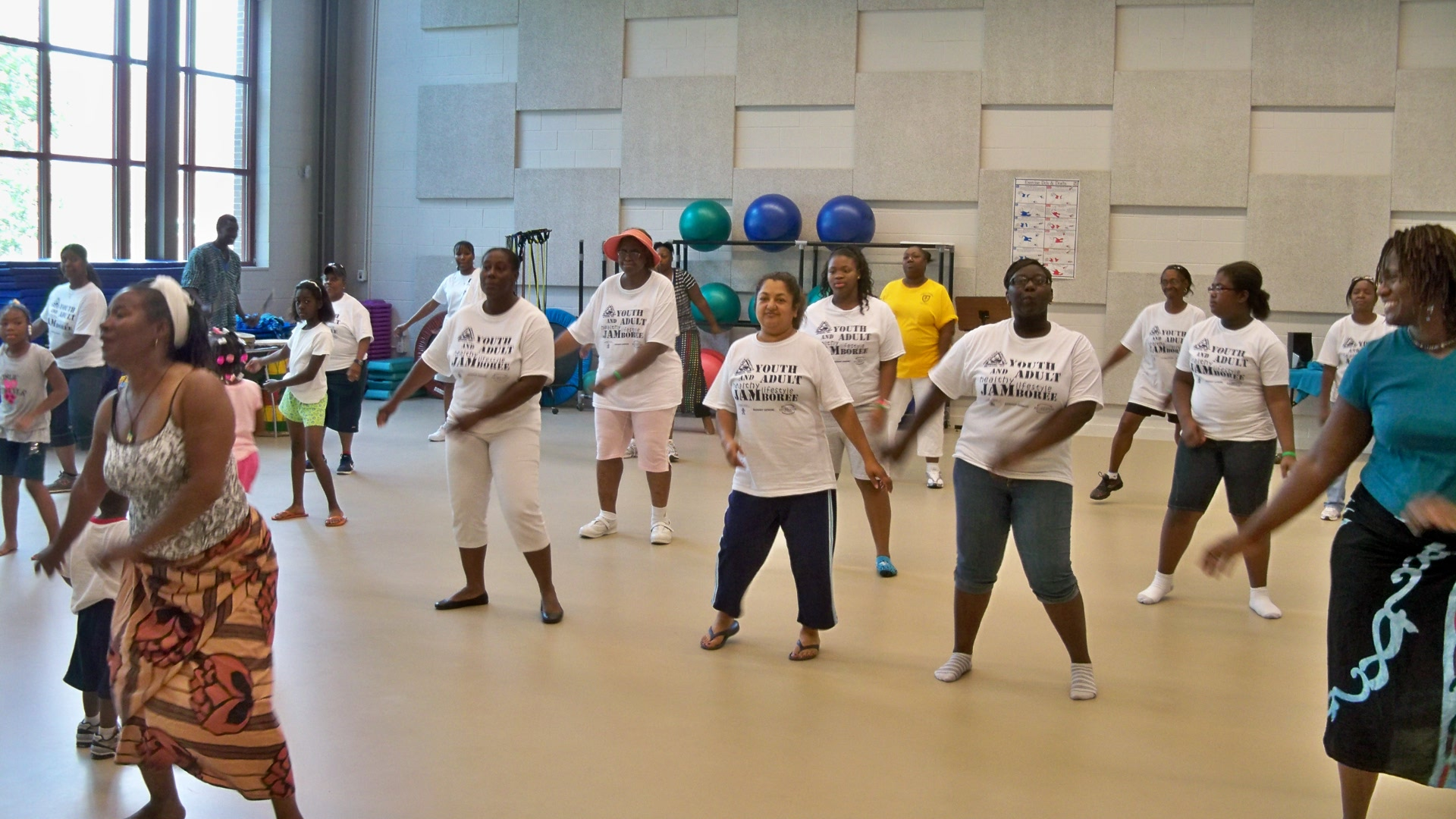 Youth and Adult Healthy Lifestyle Jamboree is a day devoted to teaching ...